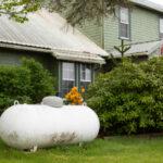 residential propane tank